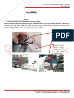 GUNSJET E5i-SR Manual - Printhead Installation