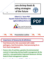 7 Biosecure Shrimp Feeds Feeding Strategies of the Future Albert Tacon