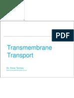 Trans Membrane Transport