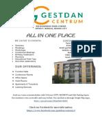 Gestdan Centrum Brochure 2019 Complete