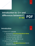 1 Difference C and CPP