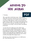 eBook Training to See Auras