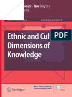 (Knowledge and Space) Peter Meusburger, Tim Freytag, Laura Suarsana (Eds.)-Ethnic and Cultural Dimensions of Knowledge-Springer (2015)