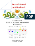 LW Musical Notes of the Chakras Attunement