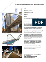 Case Study - Bespoke Butterfly Arch Truss, Manchester- Carillion