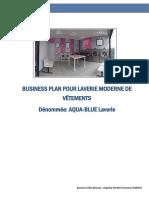 Business Plan AQUA-BLUE Laverie (DaphnyLEMIGUI)