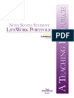 Lifework Portfolio Teaching Resource