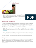 Scientific Research on Basic Diet