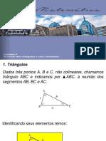 estudo dos triângulos