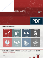 Fortinet Security Fabric v1