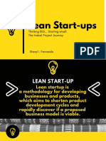 Lean Startup the Inabel Project