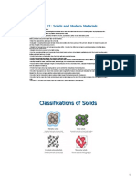 Classification of Solids PDF