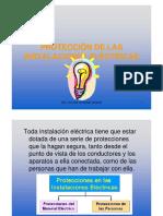 1.2.2 - Protección de La Instalaciones Eléctricas (Presentación)