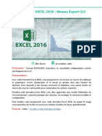 Alphorm Fiche Formation Excel 2016 Niveau Expert II