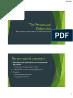 02 the Perceptual Dimension
