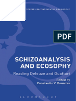 Schizoanalysis and Ecosophy
