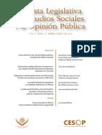 CESOP (2018). Revista Legislativa de Estudios Sociales y de Opinión Pública.pdf