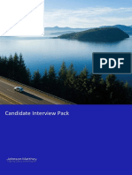 Candidate interview pack JMAT