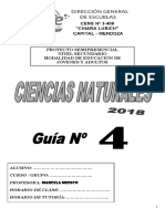 Cartilla 4 Cs Naturales 2018