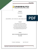 Mapa Mental - Ley 1523 de 2012 vs Dec 4232006 vs Decreto 480 de 2009