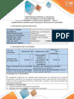 Guía de Actividades y Rúbrica de Evaluación - Fase 2 - Implementar Métodos Para Evaluación Del Proyecto Sostenible (1)