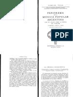 2 VEGA_1944_Musica Folklorica, En Panorama Música Popular Argentina