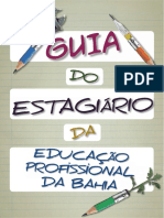 Guia Do Estagiario Da Educacao Profissional Da Bahia