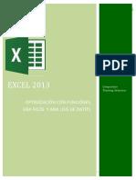 INTERMEDIO Excel 2013 Optimización Con Funciones, Gráficos y Análisis de Datos