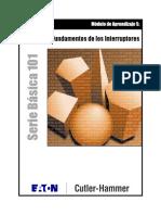 Módulo de Aprendizaje 5_ Fundamentos de Los Interruptores. Serie Básica 101