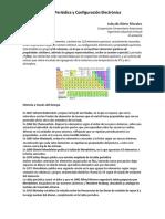 configuración electrónica de elementos químicos