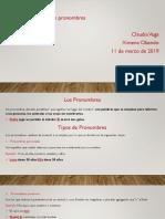 Presentación Español