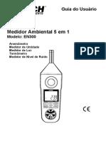 Manual decibelimetro