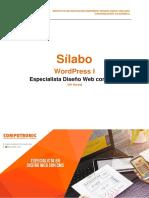 WordPress I - Espcialidad en Diseño Web CMS - 2017-1-01