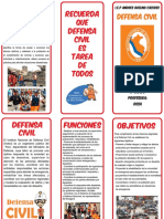 TRIPTICO DEFENSA CIVIL
