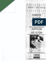 Elementos de Analise Do Discurso - José Luiz Fiorin(1)