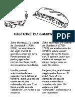 Histoire de recettes françaises
