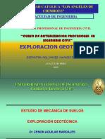 11.- EXPLORACIÓN DIRECTA CON CALICATAS.ppt