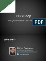 Instruções de configuração de CSS