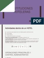 Instituciones Hoteleras Final