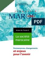مستقبلية المغرب 2030.. المجتمع المغربي