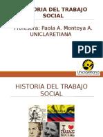 Clase Historia de Trabajo Social