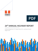 Reason Foundation 2019 Highway Report