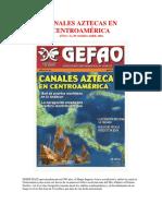 Canales Aztecas en Centroamérica