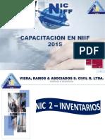 NIIF 2 EXISTENCIAS