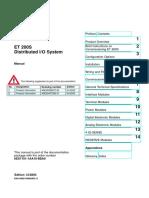 6es7 151 1aa04 Oabo Et 200s Im 151 1 Profibus Dp Siemens Manual