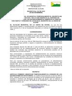 35 Decreto 124 de 2018 Modificacion de Horarios de Establecimientos Publicos