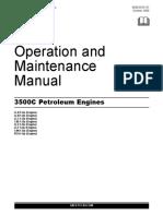 caterpillar 3500c manual
