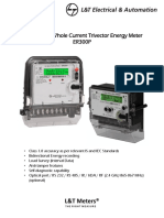 Three Phase Whole Current Trivector Energy Meter Er300p