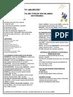 Lista de Utiles Sec 2018iv Ciclo (1)