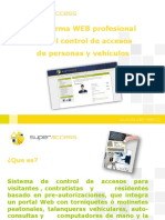 Plataformawebparaelcontroldeaccesos Superaccess 130404170106 Phpapp02